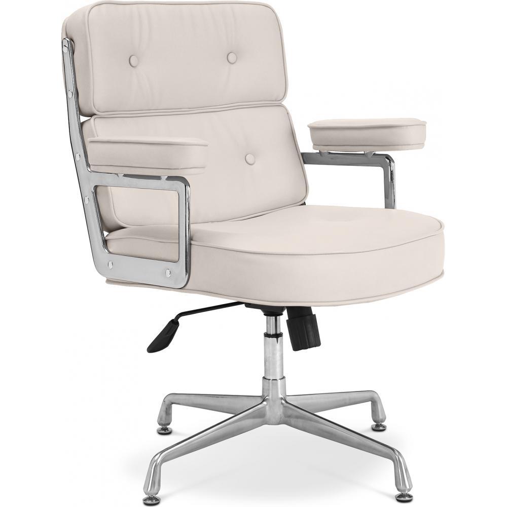 Chaise de bureau t5 cuir premium - Chaise de bureau cuir ...