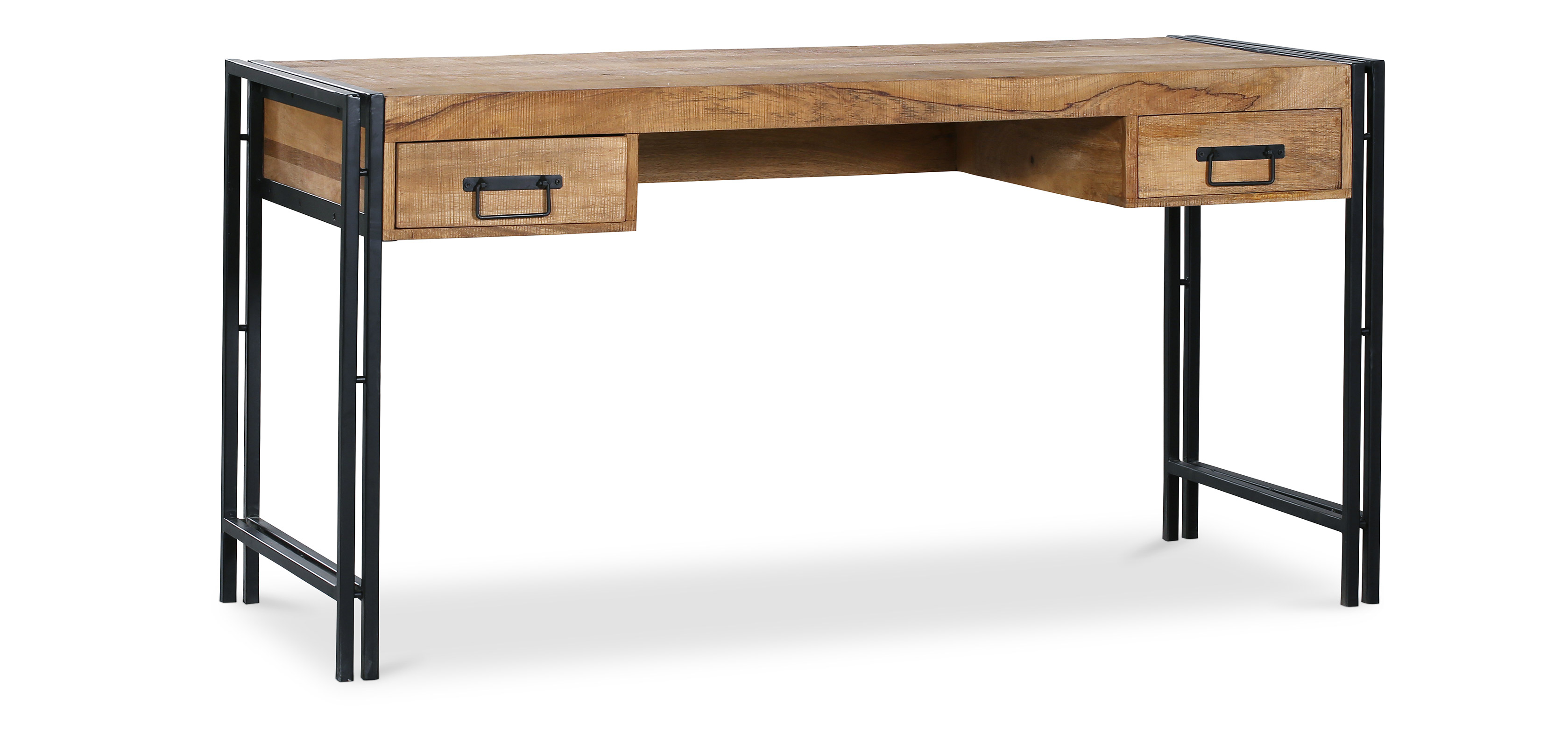 onawa bureau en bois style vintage industriel. Black Bedroom Furniture Sets. Home Design Ideas