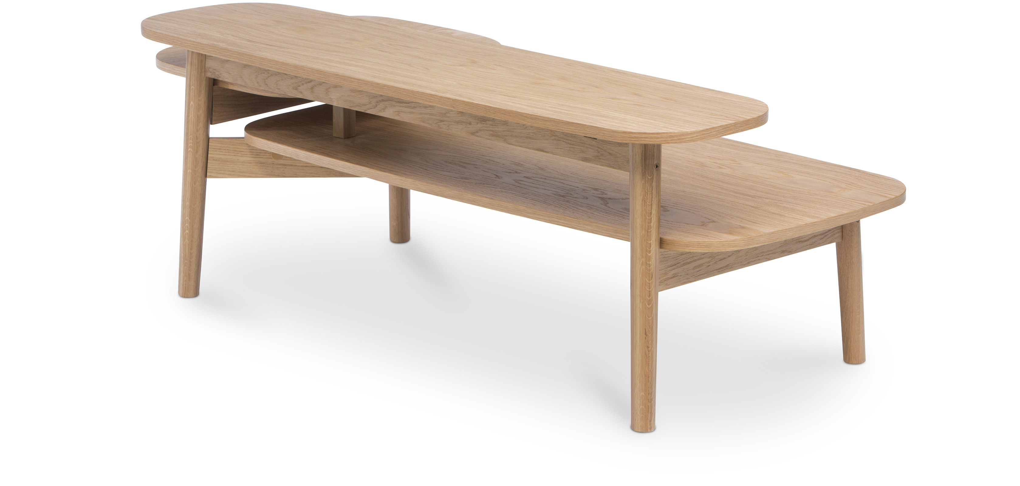 Table basse trois niveaux style scandinave - Table basse ouvrable ...