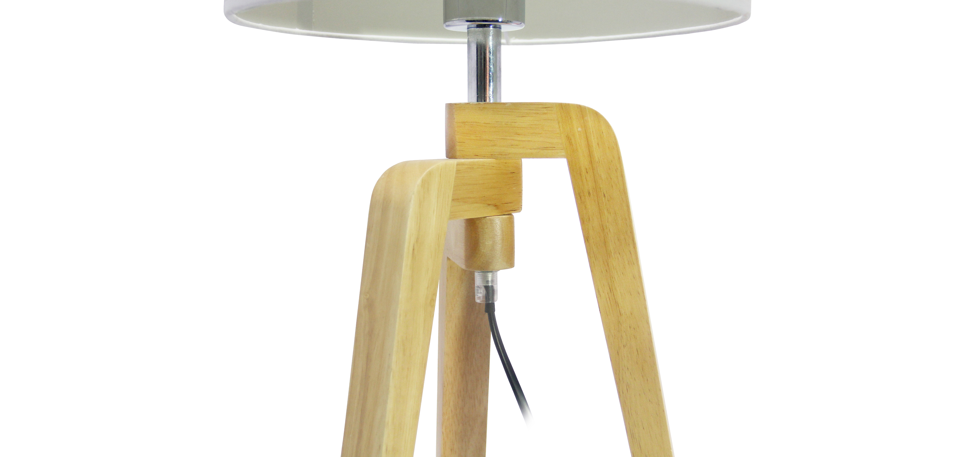 lampe de bureau tr pied pur style nordique bois. Black Bedroom Furniture Sets. Home Design Ideas