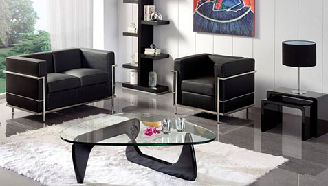 fauteuil squar simili cuir. Black Bedroom Furniture Sets. Home Design Ideas