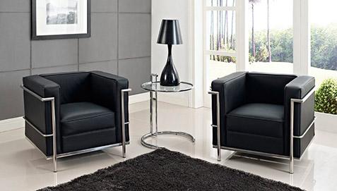 table adjustable e1027 eileen gray acier. Black Bedroom Furniture Sets. Home Design Ideas