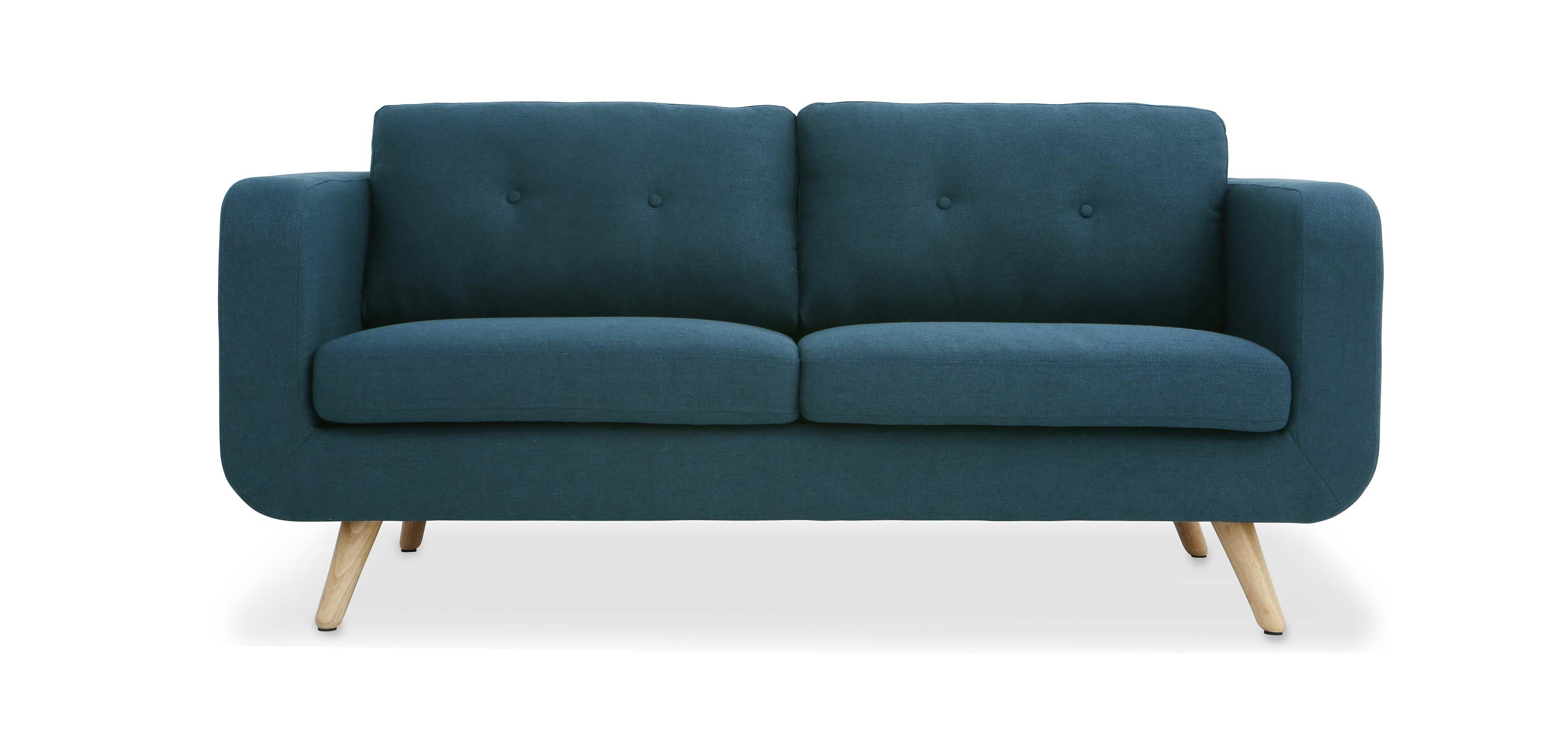 canap 2 3 places scandinave. Black Bedroom Furniture Sets. Home Design Ideas