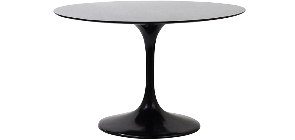 table ronde tulipe fibre de verre eero saarinen. Black Bedroom Furniture Sets. Home Design Ideas