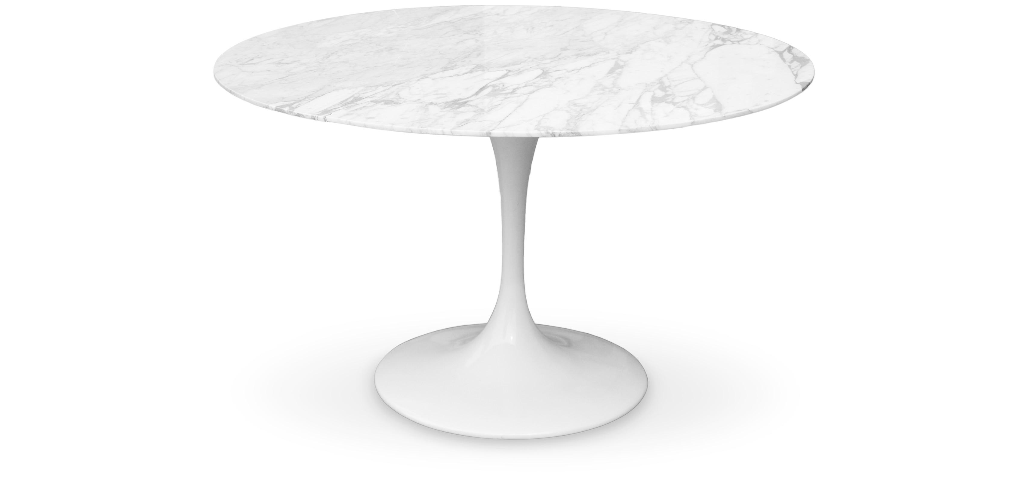Table tulipe eero saarinen marbre for Carrara marmor tisch