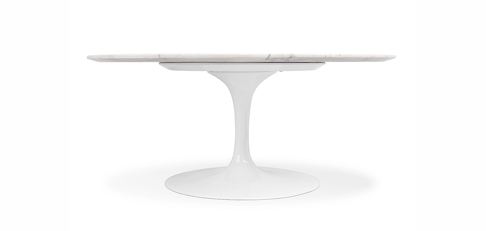 table tulipe eero saarinen marbre