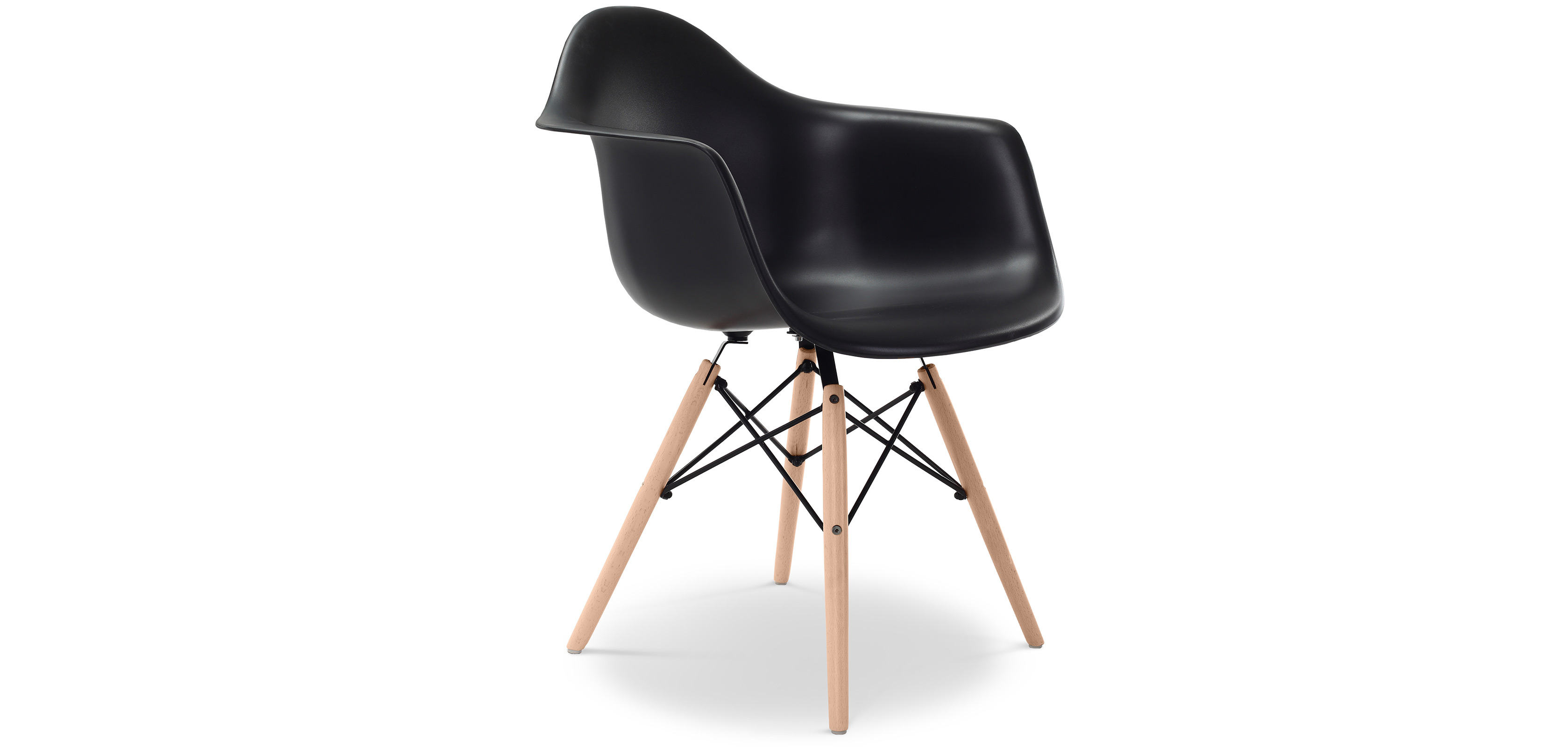 chaise daw charles eames polypropyl ne matt. Black Bedroom Furniture Sets. Home Design Ideas