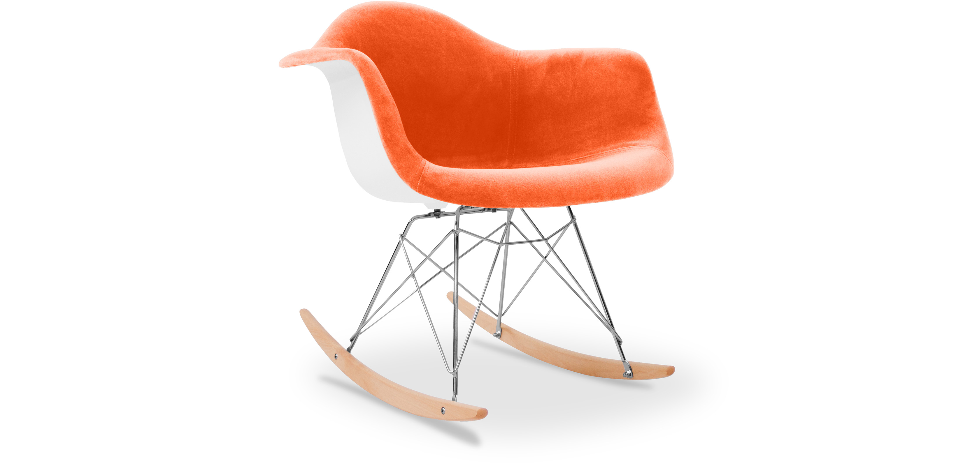 Chaise eames rar awesome rar rocking chair eames offwhite for Imitation chaise vitra