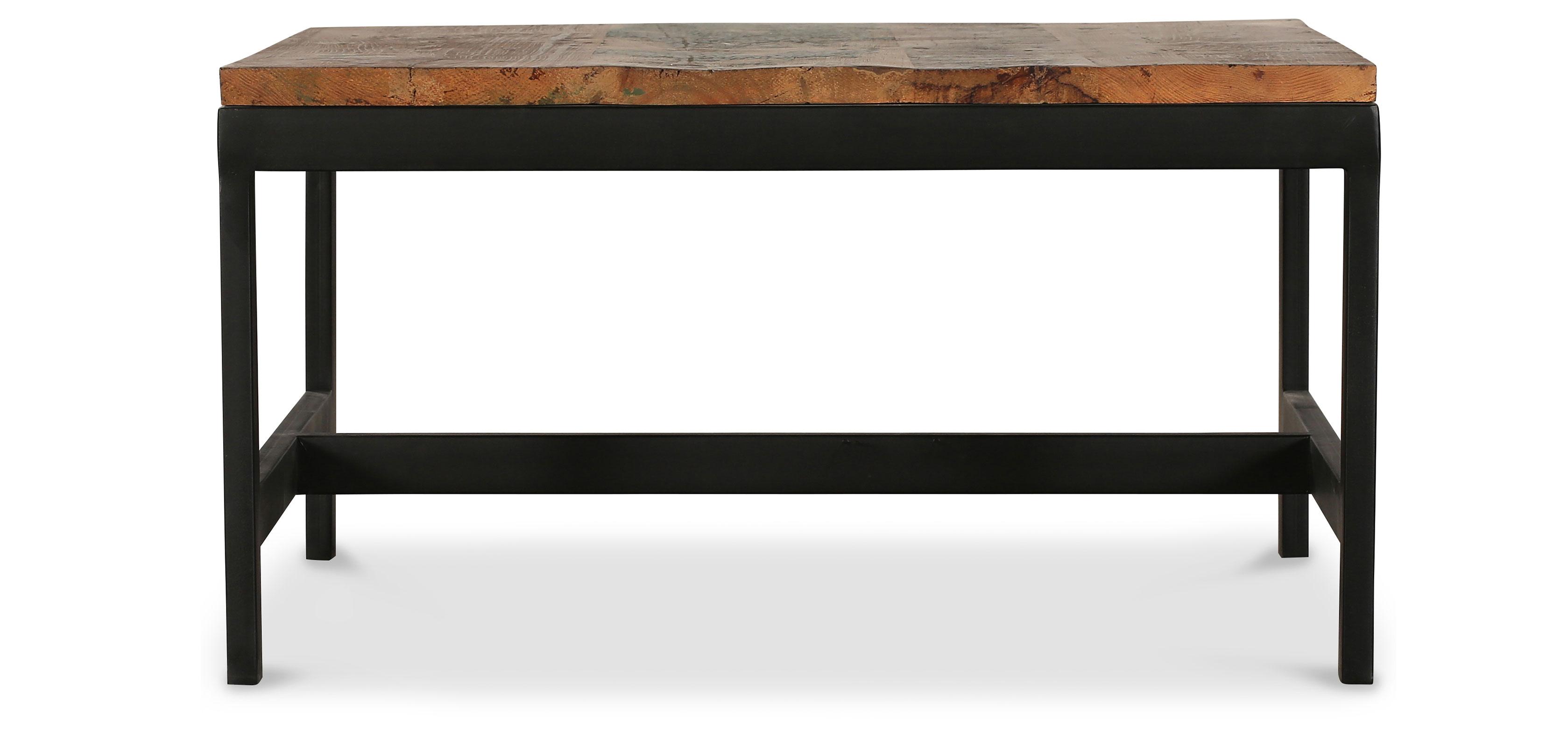 Table basse vintage industriel acier et bois - Table basse acier bois ...