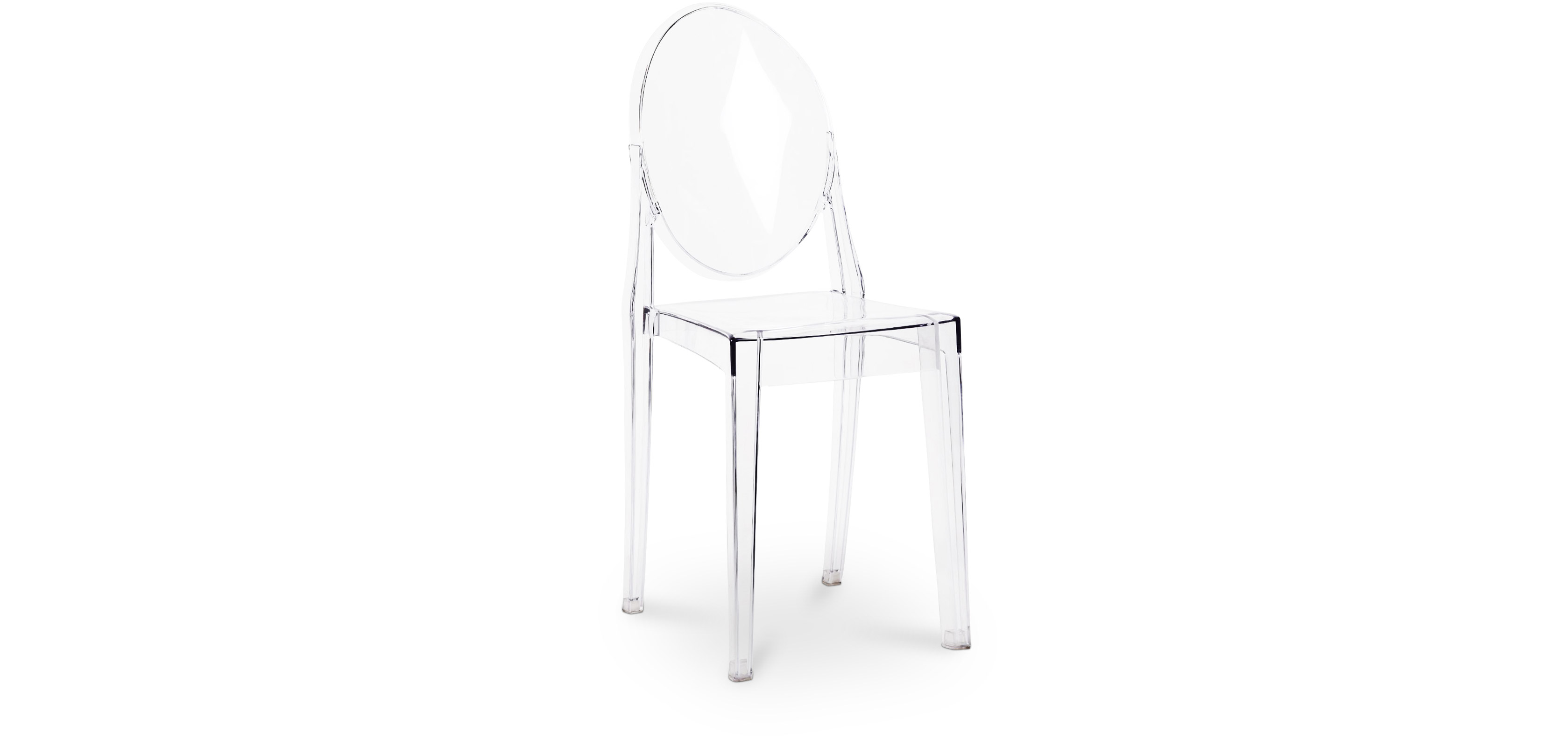 Chaise Ghost Philippe Starck on