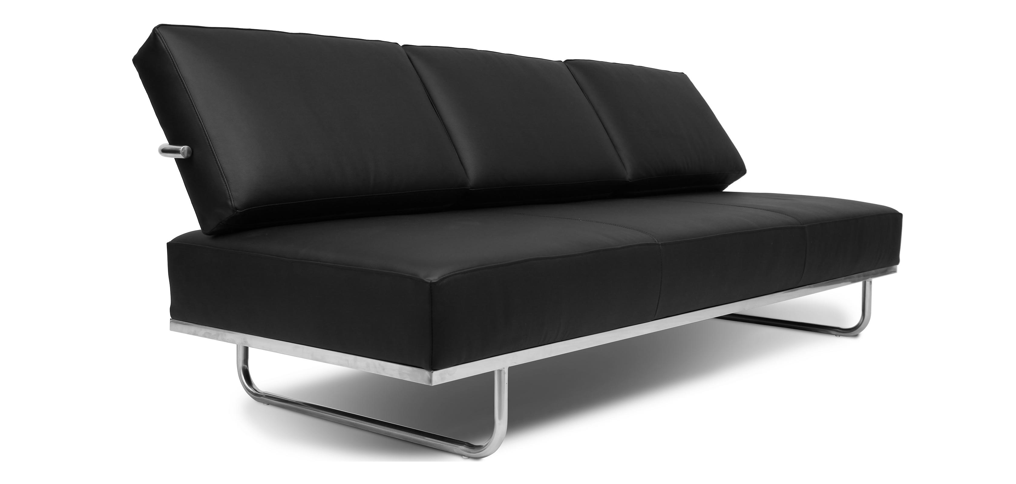 canap lit lc5 charles le corbusier simili cuir. Black Bedroom Furniture Sets. Home Design Ideas