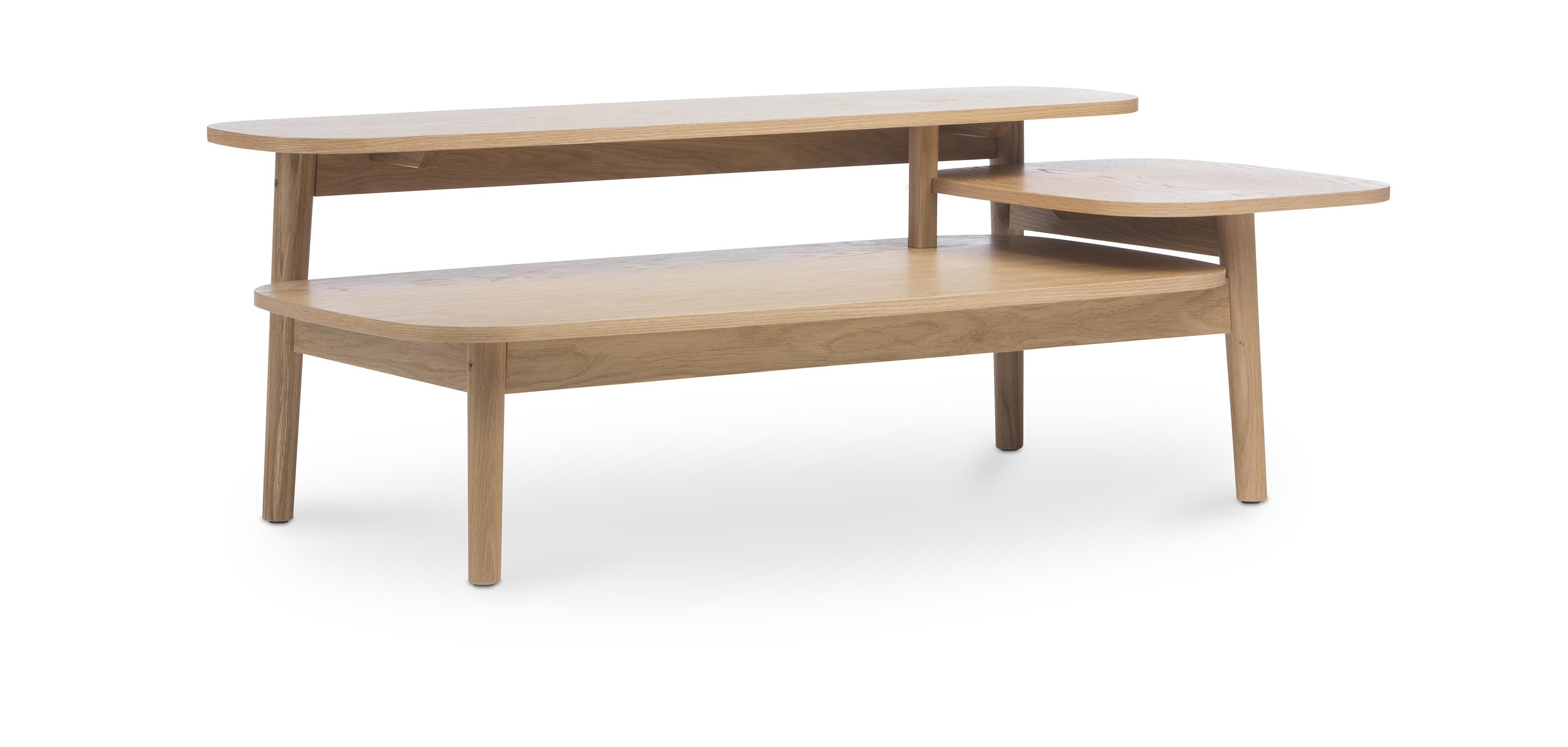 Table basse trois niveaux style scandinave - Table basse trois pieds ...