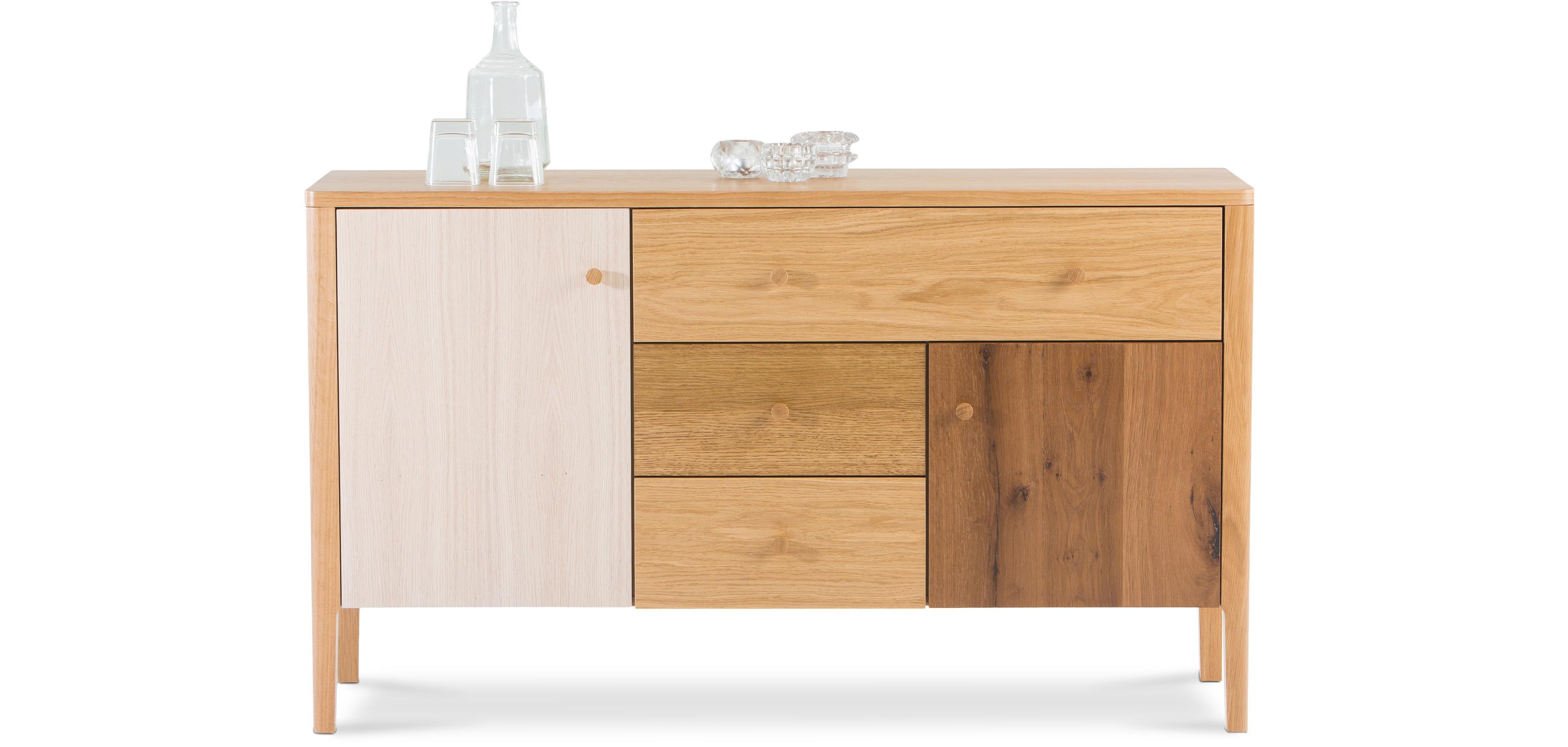 Buffet en bois de style scandinave