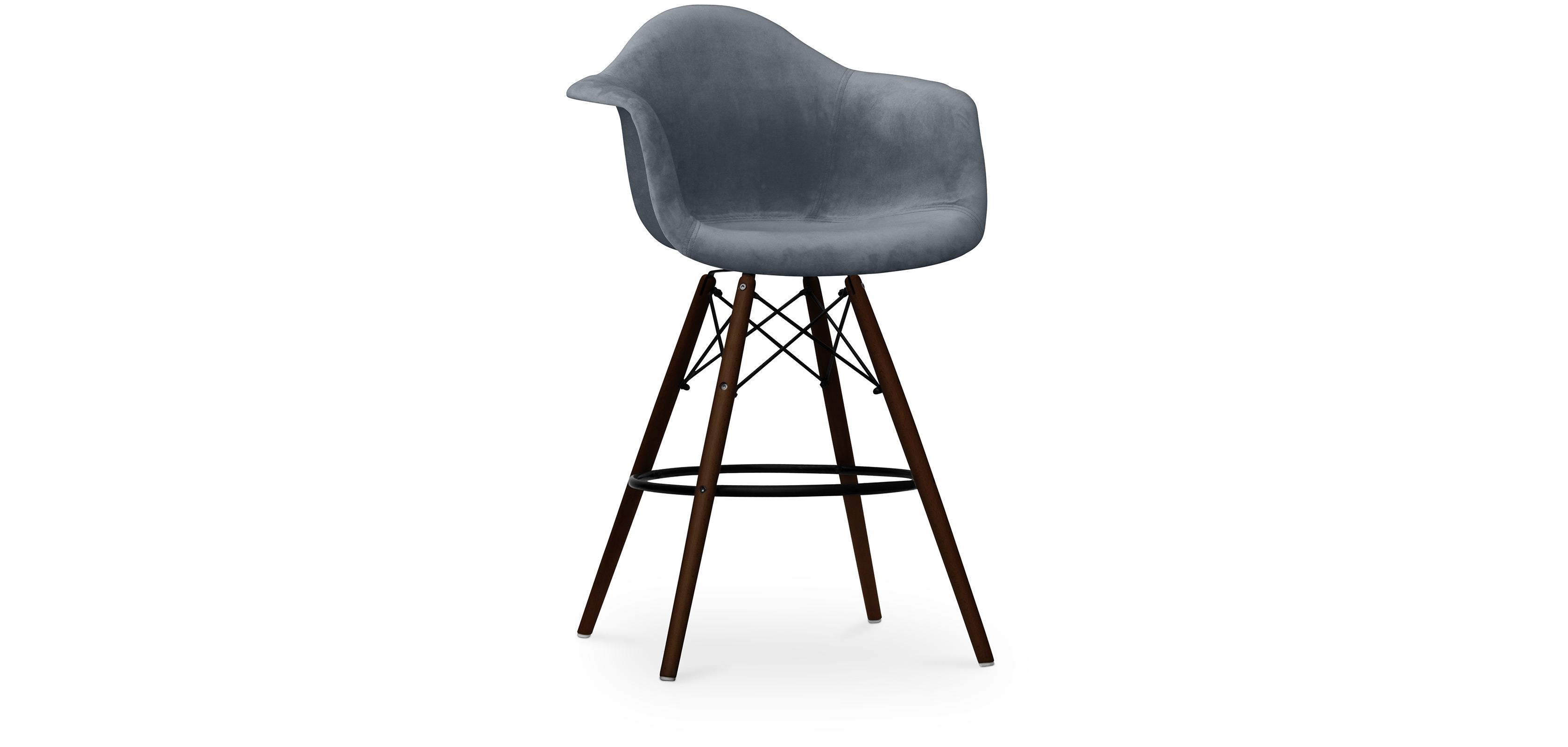 tabouret daw charles eames pi tement fonc tissu. Black Bedroom Furniture Sets. Home Design Ideas
